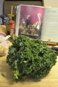I have to show off this beautiful bunch of kale.