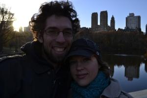 Selfie in Central Park