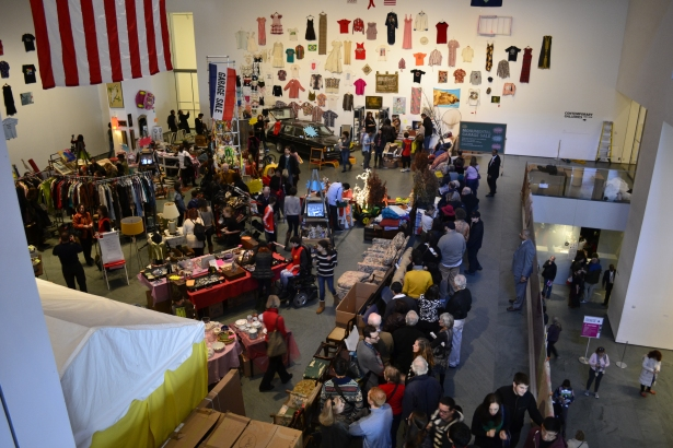 This yard sale inside MoMA was part of an interactive exhibit