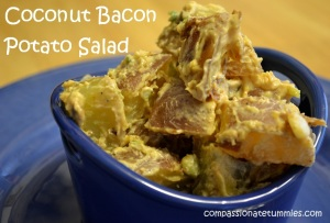 Coconut Bacon Potato Salad