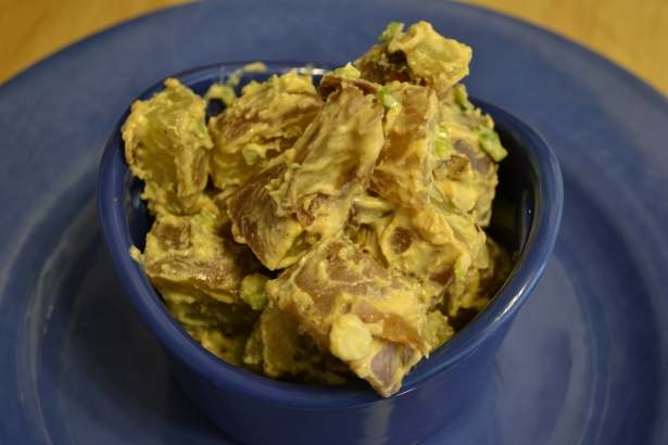 Coconut Bacon Potato Salad