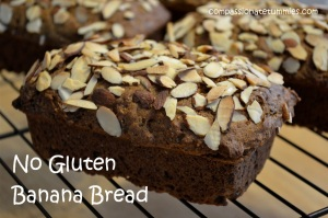 No Gluten Banana Bread
