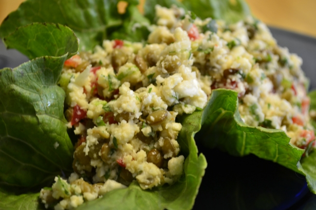 Not So Tabbouleh Cauliflower Salad