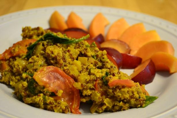 Farmer's Market Quinoa Scramble