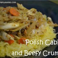 Beefy Crumbles Polish Style