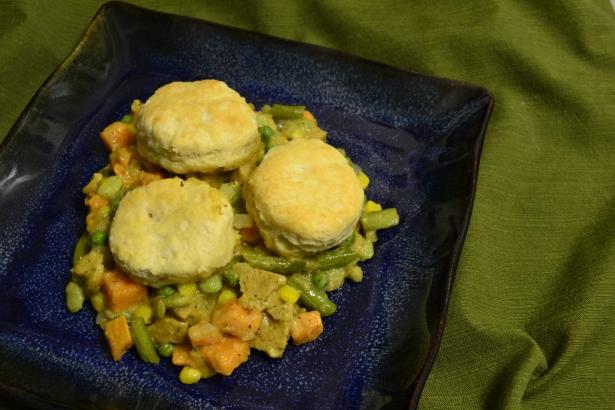 Veggie Pot Pie Casserole