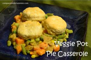 Veggie Pot Pie Casserole