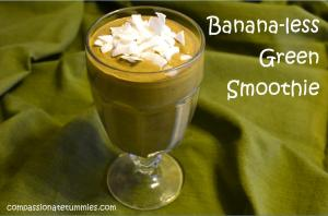 Banana-less Green Smoothie