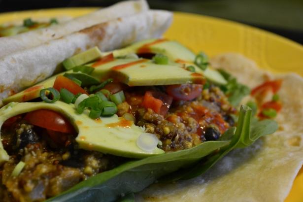 Quinoa Oat Taco Filling
