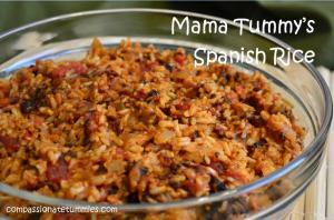 Mama Tummy's Spanish Rice