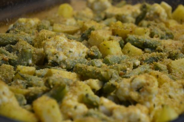 Mustard Roasted Veggies