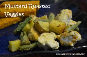 Mustard Roasted Veggies